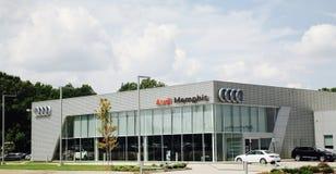 Audi av Memphis Arkivbilder