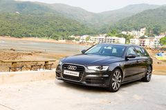 Audi A6 Avant 2012 Royalty Free Stock Photo