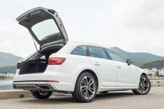 Audi A4 Avant 40 de dag van de testaandrijving stock fotografie
