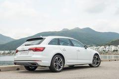 Audi A4 Avant 40 de dag van de testaandrijving royalty-vrije stock afbeelding