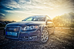 Audi A4 avant. Outside in the sun royalty free stock images