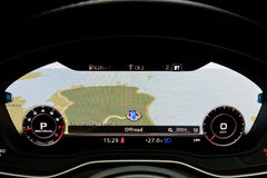 Audi A4 Avant 45 TFSI quattro GPS Royaltyfria Foton
