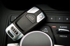 Audi A4 Avant 45 TFSI quattro Wireless Key Royalty Free Stock Photo