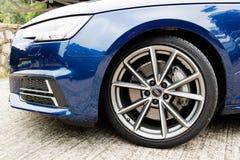 Audi A4 Avant 45 TFSI quattrohjul Royaltyfria Bilder