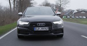 Audi. Avto Royalty Free Stock Photo