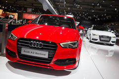 Audi A3 Berline and Audi A3 Sportback Stock Images