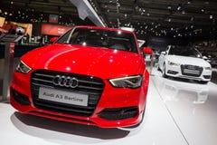 Audi A3 Berline et Audi A3 Sportback Images stock