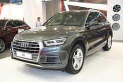 Audi bij het Car Show van Belgrado Stock Afbeelding