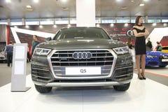 Audi bij het Car Show van Belgrado Stock Afbeeldingen