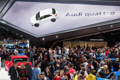 Audi booth at the IAA 2015 Royalty Free Stock Photography