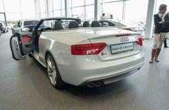 Audi A5 Cabriolet Stock Photos
