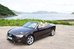 Audi A5 Cabriolet 2012 Stock Photo
