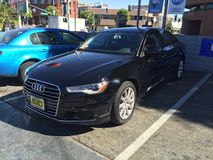 Audi A6 2016 Stock Photography