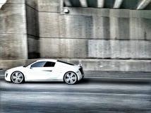 Audi a8 stock image