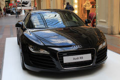 Audi car exhibition in GUM, Moscow Royalty Free Stock Images