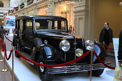 Audi car exhibition in GUM, Moscow Royalty Free Stock Photo