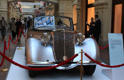 Audi car exhibition in GUM, Moscow Royalty Free Stock Photography