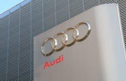 Audi car manufacturer Stock Photos