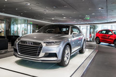 Audi car for sale Stock Photography