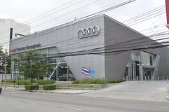 Audi car showroom and service center Stock Photos