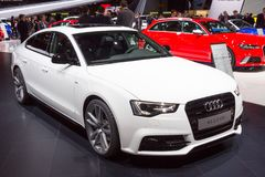Audi A5 2 0 carros de TDI Fotos de Stock Royalty Free