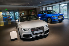 Audi cars for sale Royalty Free Stock Image