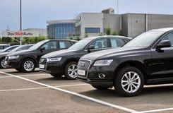 Audi cars Stock Photos