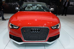 Audi at the Chicago Auto Show Stock Photo