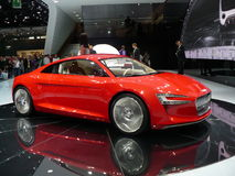 Audi concept electric car Stock Photo