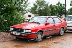 Audi Coupe fotografia de stock royalty free