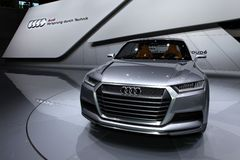 Audi Crosslane Royalty Free Stock Images