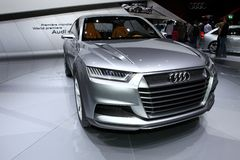 Audi Crosslane Royalty Free Stock Image