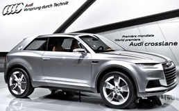 Audi Crosslane Coupe concept Stock Images