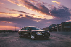 Audi A8 D3 Royalty Free Stock Photo