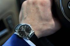 Audi de montre-bracelet Images libres de droits
