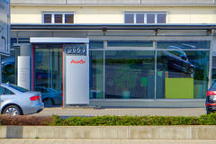 Audi dealership Stock Images