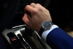 Audi dell'orologio immagine stock libera da diritti
