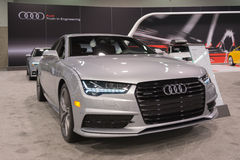 Audi A7 on display. Royalty Free Stock Photography