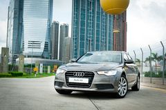 Audi A6 Royalty Free Stock Images