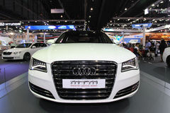 Audi A6 display in Thailand International Motor Expo 2013 Royalty Free Stock Image