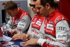 Audi drivers Royalty Free Stock Image