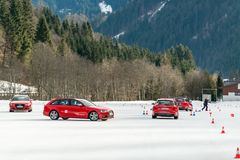 Audi Driving Experience photographie stock