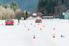 Audi Driving Experience Stock Image