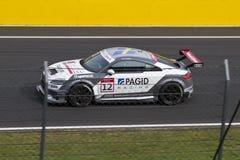 Audi DTM car in race Royalty Free Stock Photos