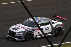 Audi DTM car in race Stock Images