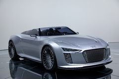 Audi e-tron concept car Stock Image