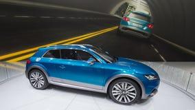 Audi e-tron Concept Stock Photo