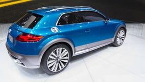 Audi e-tron Concept Stock Photos