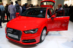 The Audi A3 E-Tron Royalty Free Stock Photos