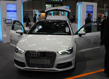 The Audi A3 E-Tron Royalty Free Stock Photo